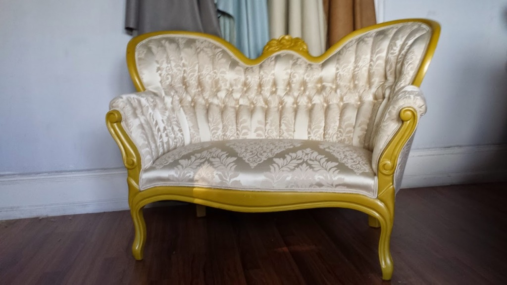 Fast Great Upholstery Antique Sofa